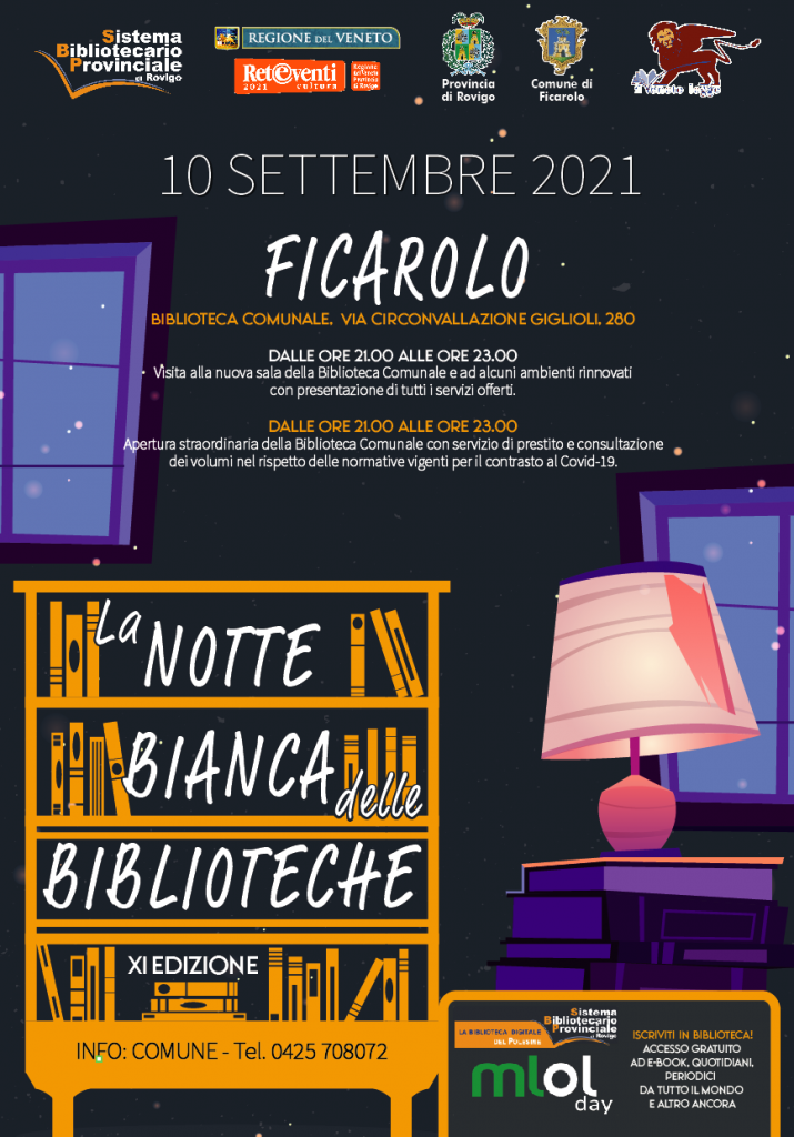 Notte Bianca delle Biblioteche 2021
